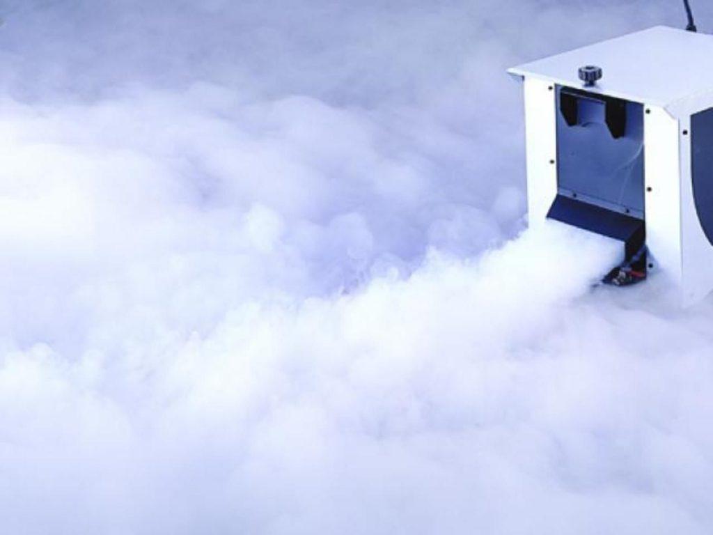machine a fumee lourde