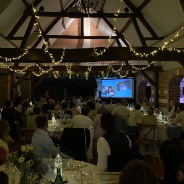 video projecteur pour mariage