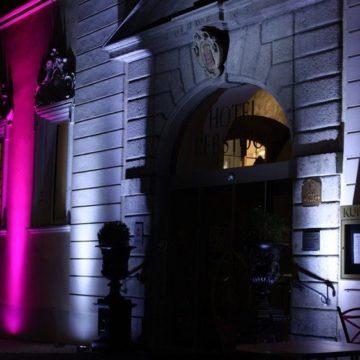 Mise en lumière chateau LED