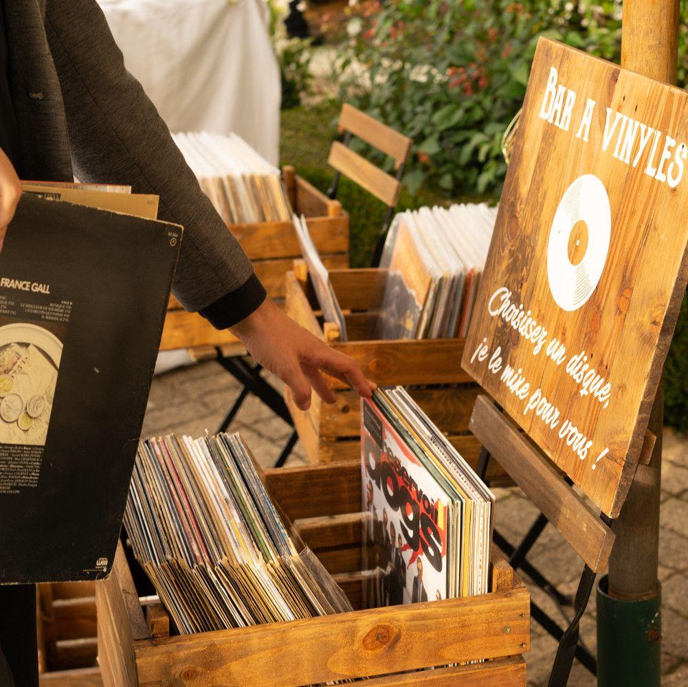 Dj bar à vinyles Rouen