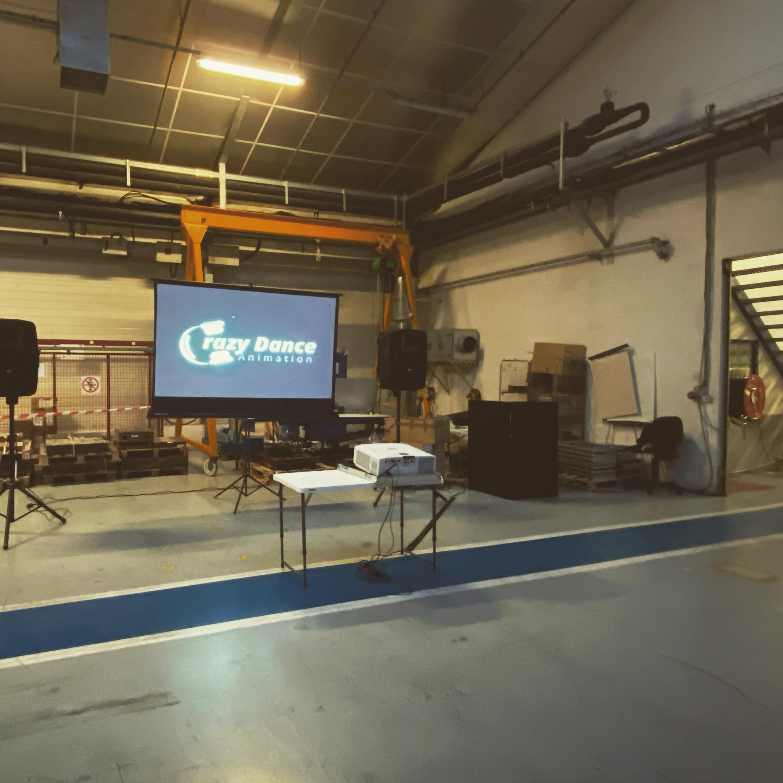 Vidéo projection